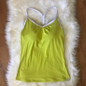 💖4/$15💖 NIKE NEON YELLOW TANK TOP